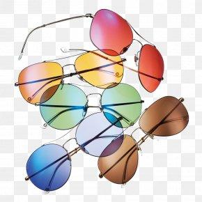 Color Sunglasses - Sunglasses Lens Goggles Eyewear PNG