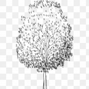 Tree Plan - Building Information Modeling Tree Computer-aided Design Woody Plant PNG