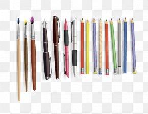 Watercolor Pen - Pencil Ballpoint Pen Watercolor Painting Gratis PNG