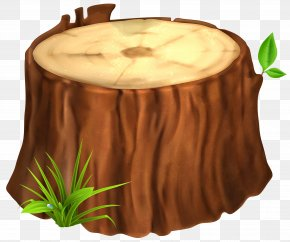 Tree Stump Clipart Image - Tree Stump Clip Art PNG