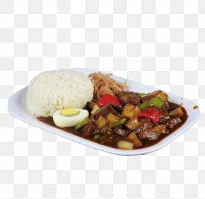 Egg Black Pepper Beef Rice - Vegetarian Cuisine Rice Cake Pot Roast Asian Cuisine Fried Rice PNG