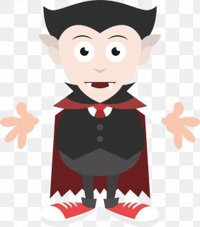 Vector Painted Vampire - Drawing Vampire Illustration PNG
