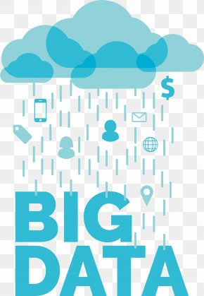 Big Data Blue Clouds - Big Data Data Science PNG