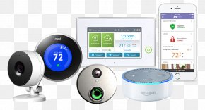 Home Automation Kits - MONI Smart Security Security Alarms & Systems Home Security Alarm Device PNG