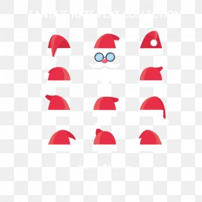 Santa Claus Hat Collection - Santa Claus Christmas Hat PNG