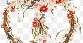 Floral Design - Decorative Arts Floral Design Clip Art PNG