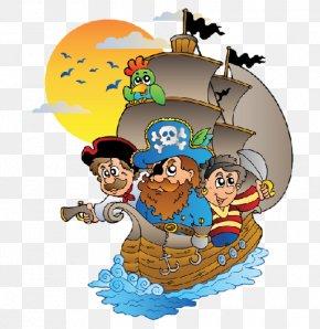Pirates - Piracy Boat Jigsaw Puzzle Child PNG