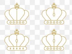 Golden Crown Element - Logo Brand Text Font PNG