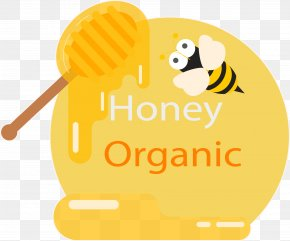 Honey Packaging Sticker - Paper Bee Packaging And Labeling Sticker PNG