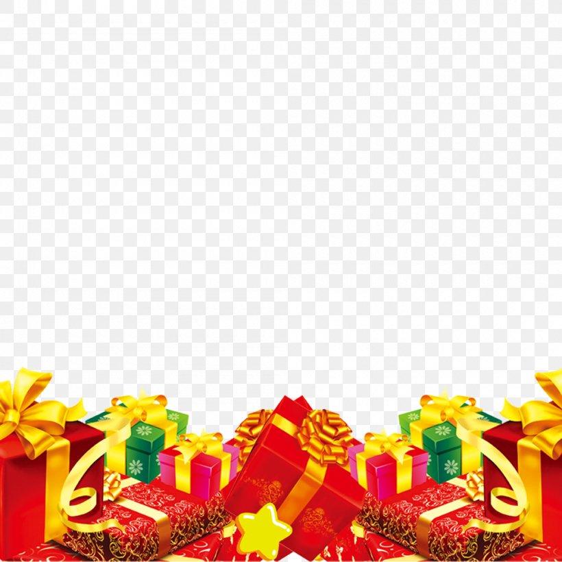 Gift Christmas, PNG, 1000x1000px, Gift, Animation, Christmas, Christmas Tree, Drawing Download Free