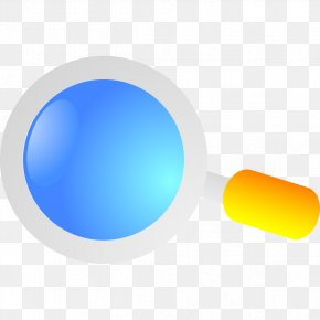 Blue Magnifying Glass Model - Magnifying Glass PNG