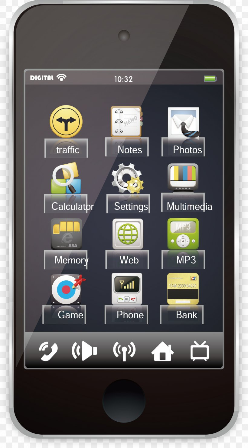 Smartphone Feature Phone Application Software Mobile Device, PNG, 2621x4726px, Smartphone, Apple, Application Software, Cellular Network, Communication Device Download Free