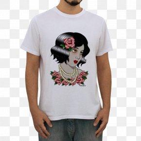 T-shirt - T-shirt Sleeve Clothing White PNG