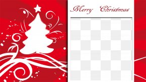 Holiday Graphics - Christmas Card Holiday Greeting & Note Cards Clip Art PNG