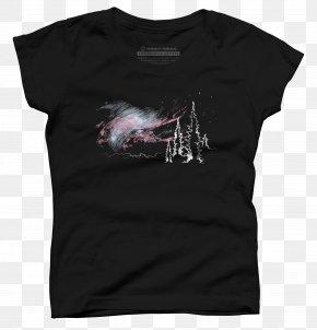 Aurora Boreal - T-shirt K.I.T.T. Sleeve Top PNG