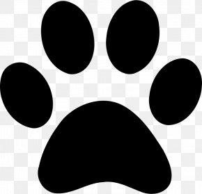 Black Claws - Paw Bear Cat Clip Art PNG