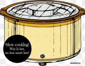 Slow Cooker - Slow Cookers Clip Art Cookware Crock Olla PNG