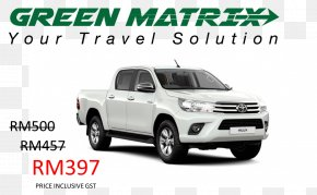 Toyota - Toyota Hilux Car Jeep Pickup Truck PNG