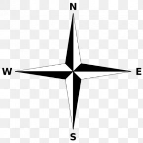 Compass Rose - North Compass Rose Cardinal Direction Map PNG