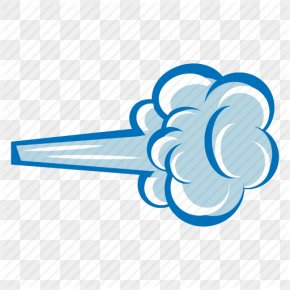 Wind Clipart - Wind Cloud Clip Art PNG