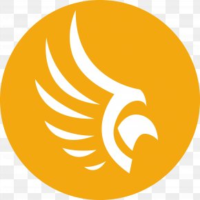 Yellow Background Round Wings - Euclidean Vector Logo Adobe Illustrator PNG