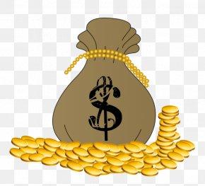 Money Bag - Money Bag Coin Gold Clip Art PNG