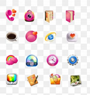 Pink Series Software Icon - Pixel Icon PNG