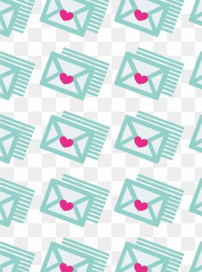 Envelope - Textile Purple Pattern PNG