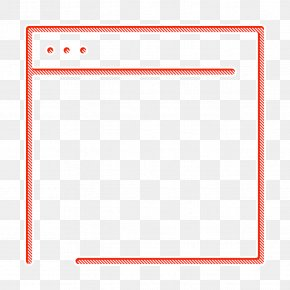 Rectangle Computer Icon - Web Navigation Line Craft Icon Browser Icon Internet Icon PNG