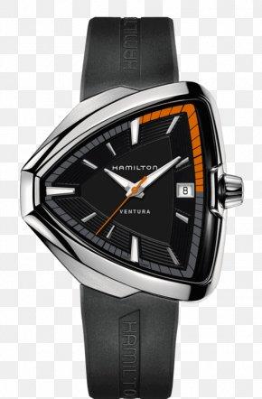 Watch - Hamilton Watch Company Ventura Elvis 80 Strap PNG