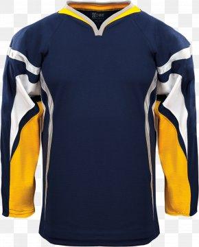 T-shirt - T-shirt Hockey Jersey Uniform Sleeve PNG