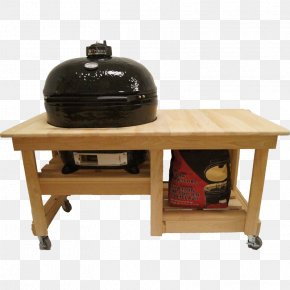 Table - Table Barbecue Primo Oval XL 400 Kamado BBQ Smoker PNG