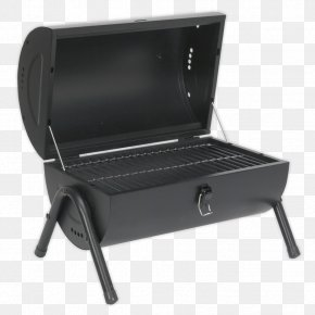 Barbecue Grill - Barbecue-Smoker Charcoal Steel Barrel Barbecue PNG