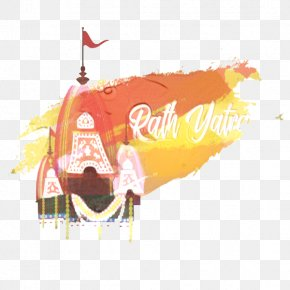 Orange Computer - Orange Background PNG