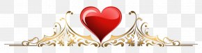 Heart - Right Border Of Heart Inkscape Clip Art PNG