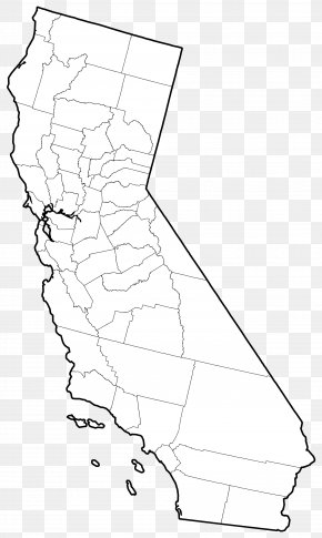California Outline - Northern California Kern County, California Floods In California Christmas Flood Of 1964 PNG