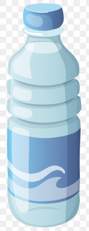 Small Mineral Water Bottle Clipart Image - Water Bottle Bottled Water Clip Art PNG