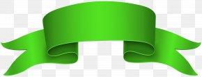 Green Banner Clip Art Image - Banner Ribbon Clip Art PNG