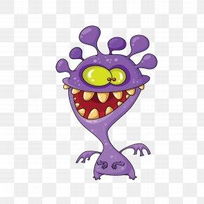 Creative Cartoon Monster - Monster Royalty-free Clip Art PNG