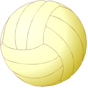Sports Balls Pictures - Volleyball Ball Game Clip Art PNG