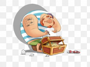 Pirates And Treasure - Cartoon Model Sheet Piracy Illustration PNG
