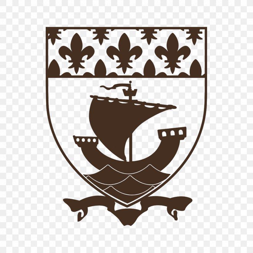Coat Of Arms Of Paris Image Clip Art, PNG, 1080x1080px, Paris, Art, Black, Black And White, City Download Free