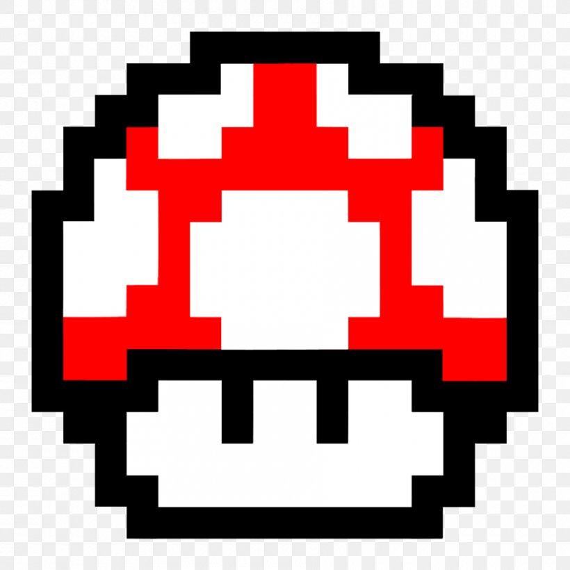 Super Mario Bros 8 Bit Mushroom Png 900x900px Super Mario Bros