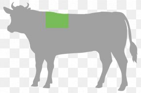 Dried Beef - Cattle Cut Of Beef Steak Food PNG