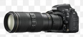 Camera - Digital SLR Nikon D7200 Nikon D610 Camera PNG