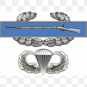 Expert Infantryman Badge - Iraq War Combat Infantryman Badge Parachutist Badge United States Army PNG