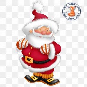 Santa Claus - Santa Claus Borders And Frames Clip Art Christmas Day Image PNG
