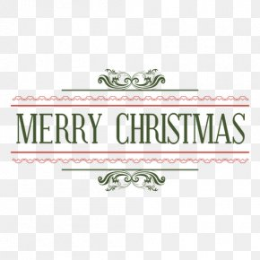 Christmas Fonts - New Year's Day Santa Claus Christmas New Year's Eve PNG