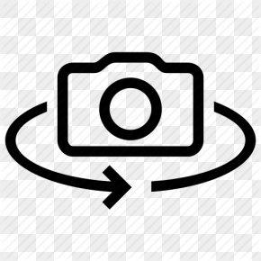 Icon Vector Flip Camera - Camera PNG