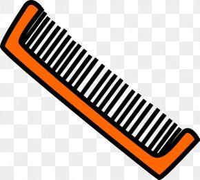 Brush Cliparts - Comb Hairbrush Hairbrush Clip Art PNG